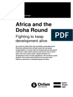 Africa and the Doha Round