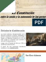Unidad 3 Constitución EEUU - Nicolás Salazar