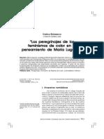 Los peregrinajes de los feminismos de color en el pensamiento de María Lugones.pdf