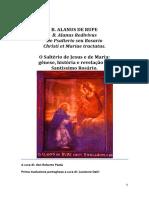 Psalterium Alanus de Rupe-português