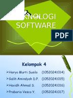 Teknologi Software Kelompok 4