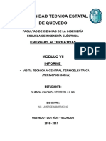 Informe de Energias Alternativas Visita