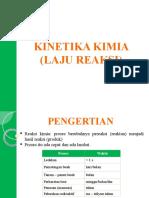 8. Kinetika Kimia (Laju Reaksi)