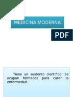 Antropología Tema 1 - Medicina Moderna