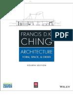 Arquitectura Forma Espacio Ching
