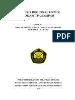 Modul TPA - Analisis Kelayakan Regional