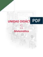 1 Unidad Didactica Mate 4togrado