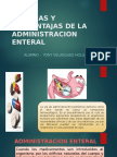 Ventajas y Desventajs Del Administracion Enteral