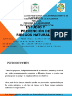 Estudio y Prevención de Riesgos Naturales