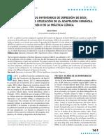 50 Años de Los Inventarios de Depresión de Beck_consejos Para La Utilización de La Adaptación Española Del BDI-II en La Práctica Clínica