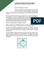 Efecto Del Capacitor en Corriente Alterna (1)