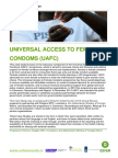 Universal Access to Female Condoms (UAFC)