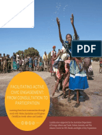 Facilitating Active Civic Engagement - From Consultation to Participation
