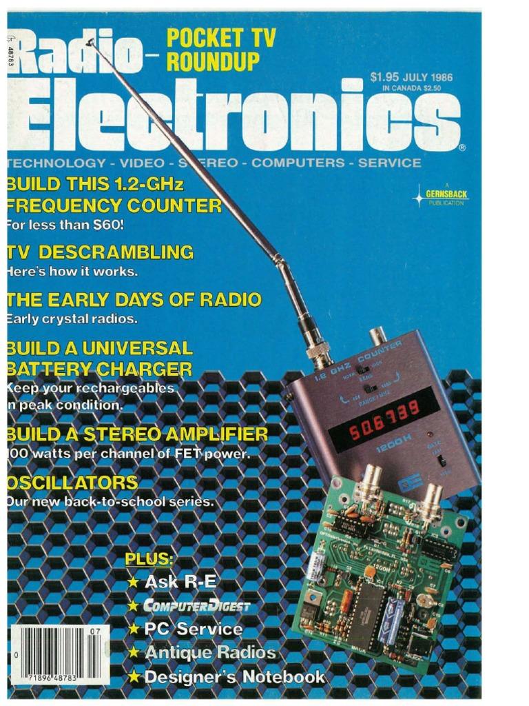 Tica Tak Electronic Dice Circuit Diagram Diagrams Digital Radio Electronics July 1986 Electrical Engineering