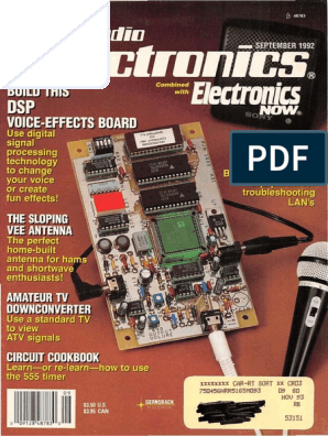 Radio Electronics September 1992   Electronic Engineering