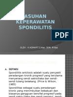 Asuhan Keperawatan Spondilitis Pp