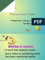 Pronouns and Types 23 Jun