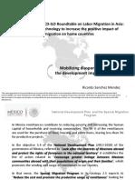 Mobilizing Diaspora and Increasing the Development Impact of Remittances