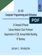 IIT Bombay CS Lecture