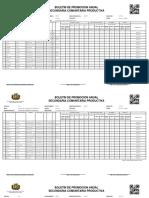 Boletin Centralizador 81230189 13 Cuarto a 2016