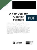 A Fair Deal for Albanian Farmers