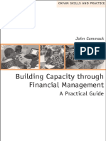 Building Capacity Through Financial Management