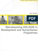 Mainstreaming HIV/AIDS in Development and Humanitarian Programmes