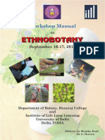 Ethnobotany Manual 14th September 2016