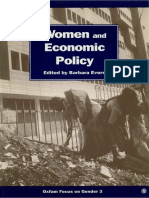 Women and Economic Policy