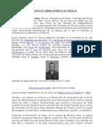 Biografia de Juana Azurduy de Padilla