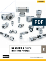 EO & EO-2 Metric Bite Type Fittings