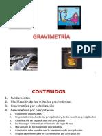 métodos gravimétricos AJS