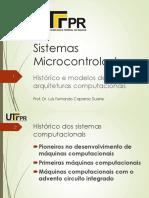 Aula 01-Histórico e Modelos de Arquiteturas Computacionais