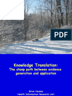 Knowledge Translation - Dalhousie 2006.ppt