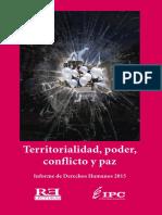 Territorialidad, Poder, Conflicto y Paz
