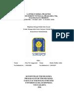 Laporan Kerja Praktek PT. Indocement Tunggal Prakarsa