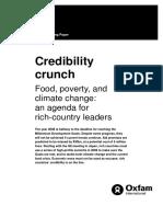 Credibility Crunch