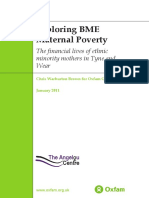 Exploring BME Maternal Poverty