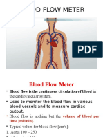 Blood Flow Meter