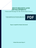 Women's Rights and Development