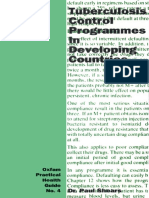 Tuberculosis Control Programmes in Developing Countries