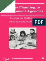 Gender Planning in Development Agencies