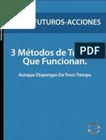 3 Métodos de Trading Que Funcionan (eBook)