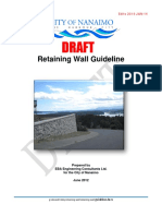 Retaining Wall Guideline