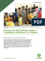 British Aid and British Arms