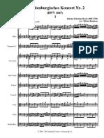 Brandenburg Concerto No2 in F Major (BWV 1047) by Bach