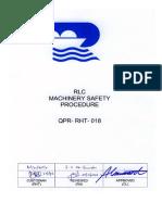 QPR-RHT-018-Machine Safety Procedure A0 (02 03 06)