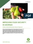Improving Food Security in Georgia
