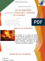 Condiciones de Seguridad Contra Incendios