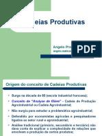 Cadeias Produtivas de Produtos Agricolas